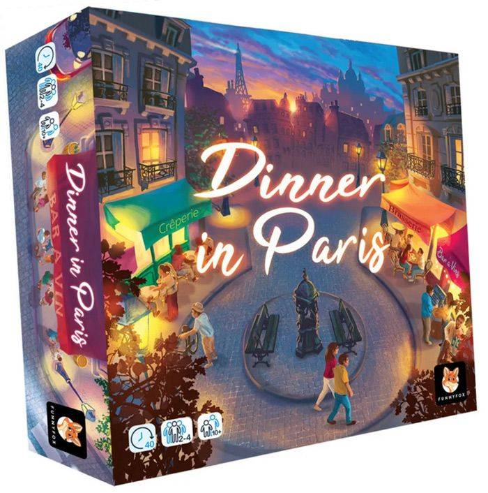 Gigamic DINNER IN PARIS