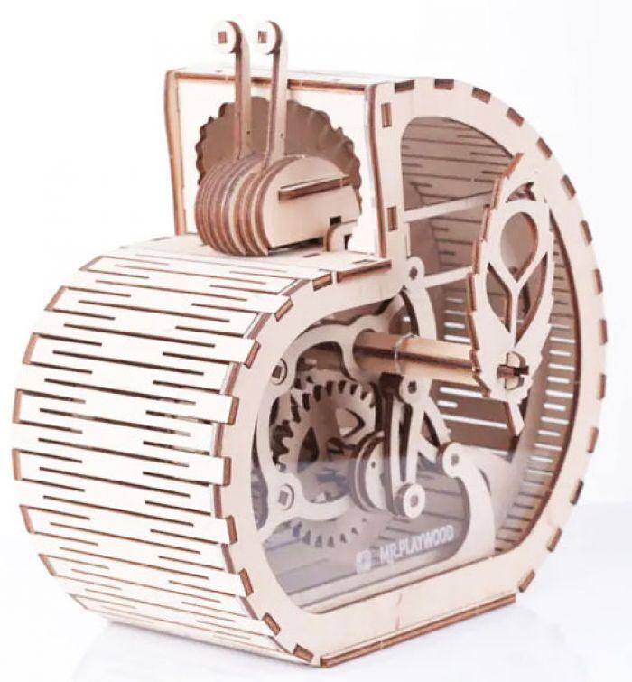 Gigamic Escargot - tirelire maquette 3D mobile en bois