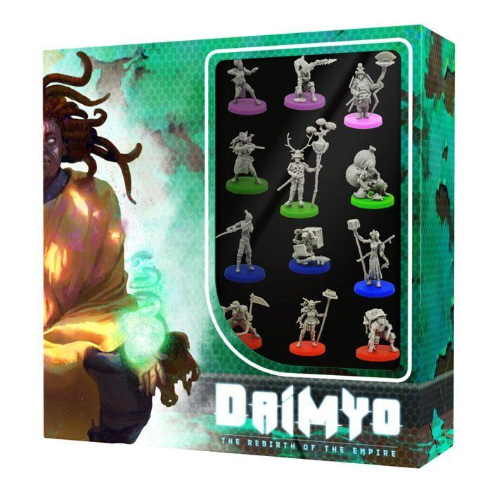 BlackRock Games DAIMYO Miniatures Set ML