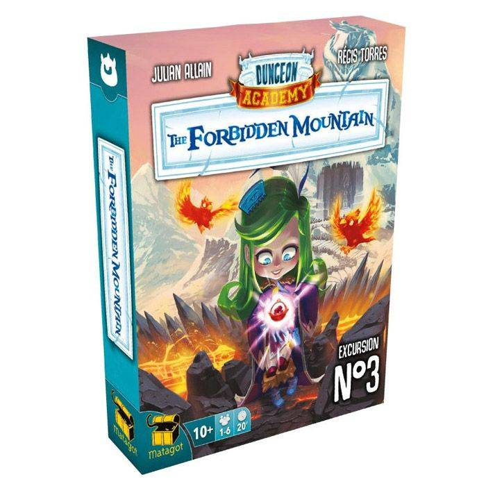 Surfin Meeple Dungeon Academy - Extension 3 : The Forbidden Mountain