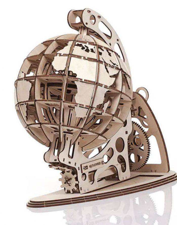 Gigamic Globe maquette 3D mobile en bois