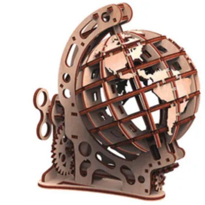 Gigamic Globe Petit Modele 3D Mobile En Bois