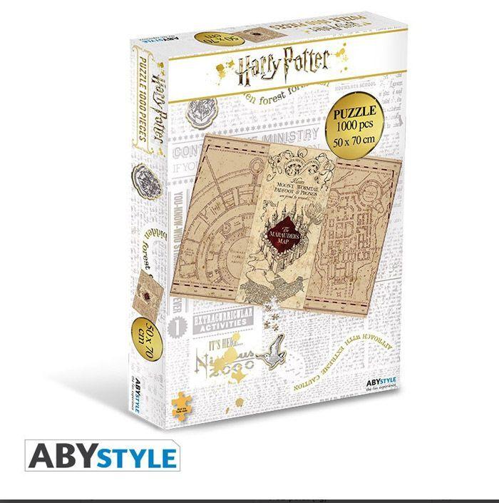 Abysse Corp HARRY POTTER - Puzzle 1000 Pieces - Carte Du Maraudeur