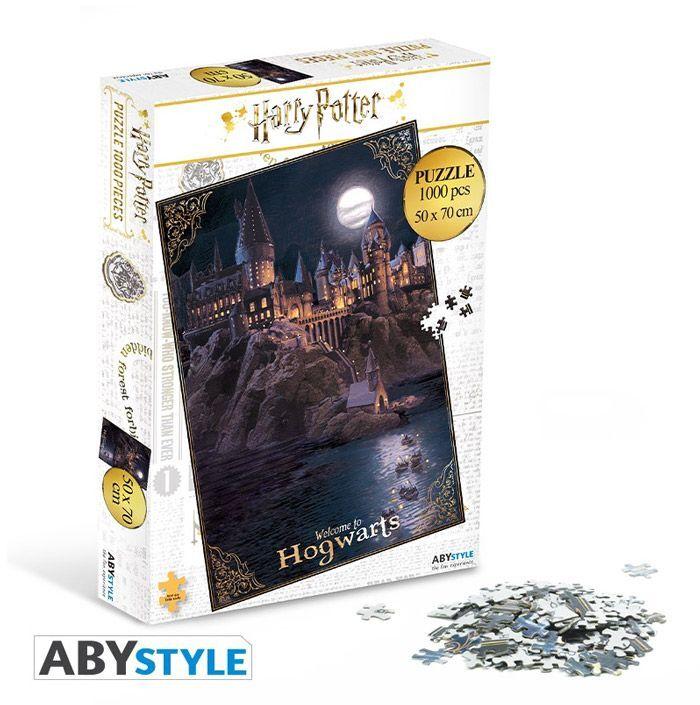 Abysse Corp HARRY POTTER - Puzzle 1000 Pieces - Poudlard