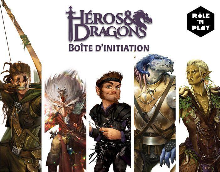 Novalis Heros & Dragons : Boite d'initiation Role 'N Play