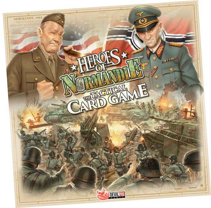 Abysse Corp HEROES OF NORMANDIE TCG - Le Jeu