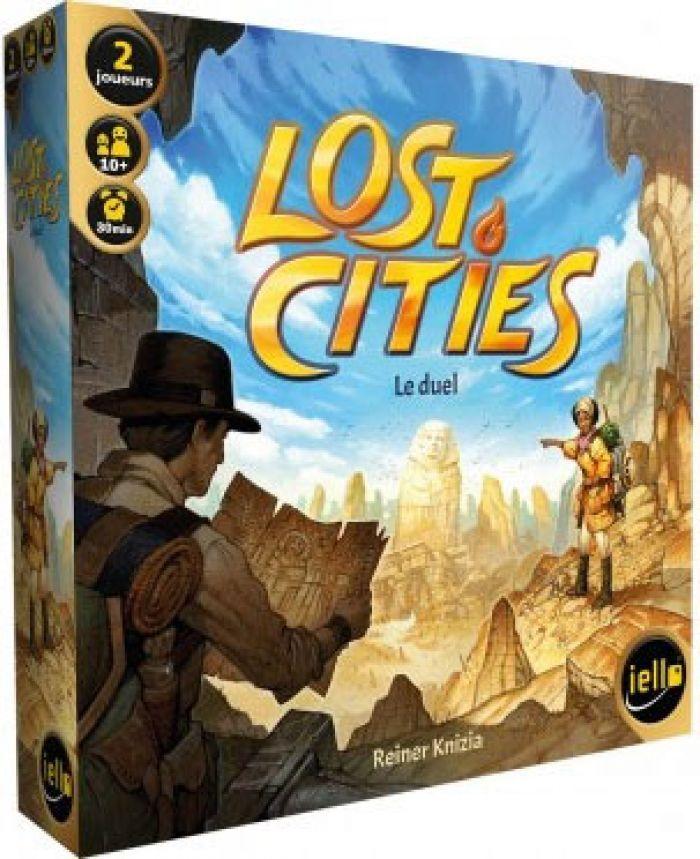 IELLO Lost Cities : Le Duel
