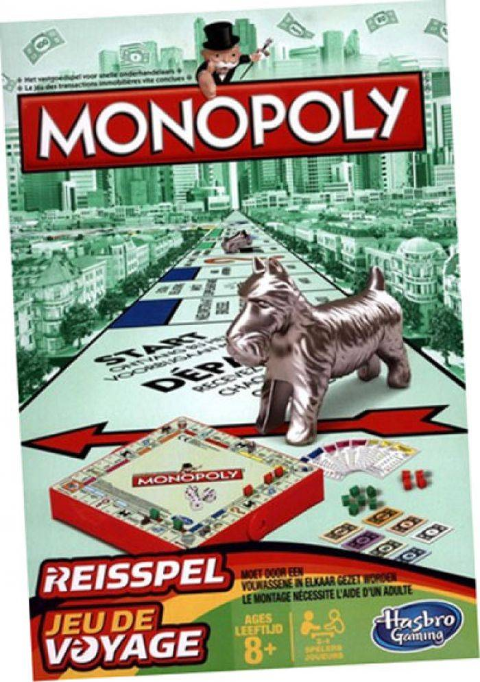 Intrafin Jeux de Voyage Monopoly (VF)