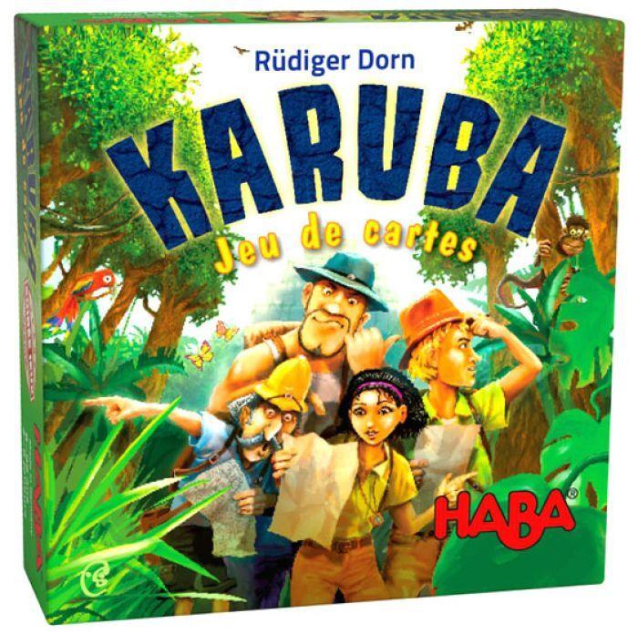 Haba Karuba le jeu de cartes
