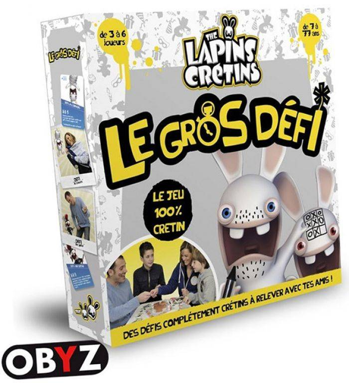 Abysse Corp LAPINS CRETINS - Jeu de plateau - Le Gros Defi