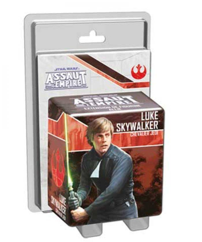 Asmodee Star Wars : Assaut sur l'Empire : Luke Skywalker. Chevalier Jedi