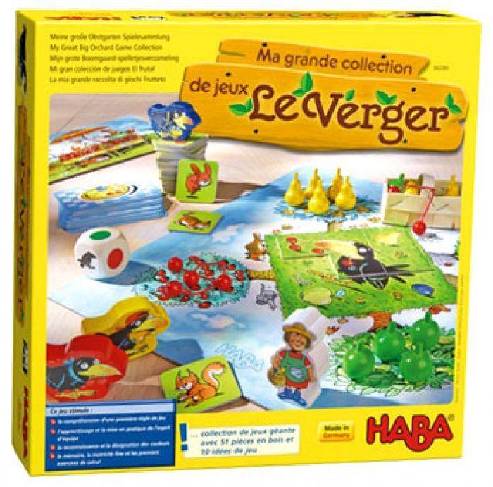 Haba Ma grande collection de jeux Le verger