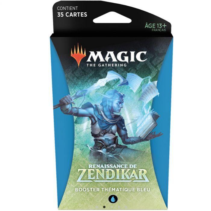 Novalis Magic The Gathering - Boosters - Renaissance De Zendikar - Booster Thematique Bleu (Francais)