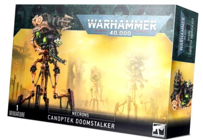 Games Work Shop W40K : Necrons - Canoptek Doomstalker