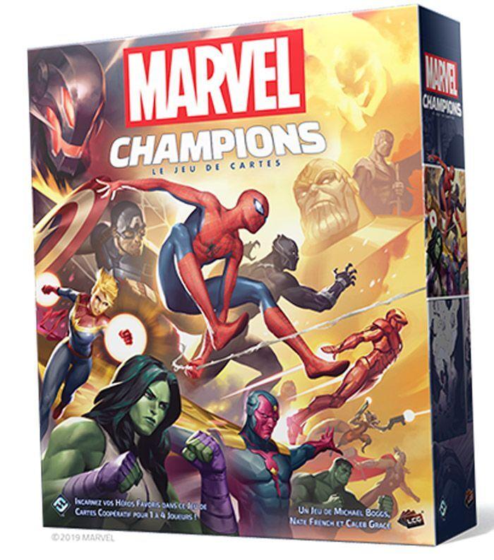 Asmodee Marvel Champions : Le Jeu de Cartes