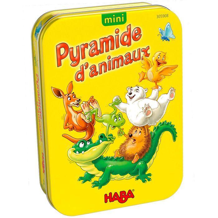 Haba Mini - Pyramide d'animaux