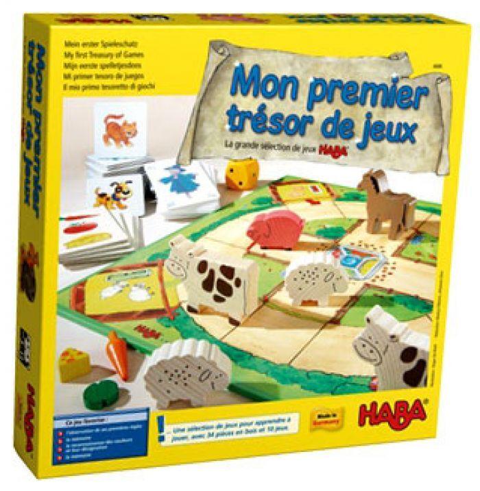 Haba Mon premier tresor de jeux La grande selection de jeux HABA