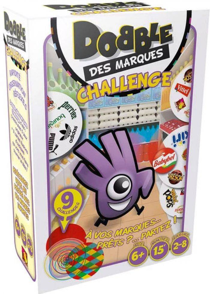 Asmodee Dobble des Marques Challenge
