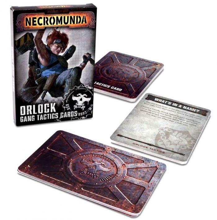 Games Work Shop NECROMUNDA: ORLOCK GANG TACTICS CARDS (VO) (sortie le 31/10)