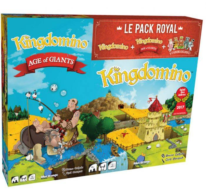 BlackRock Games Pack Kingdomino