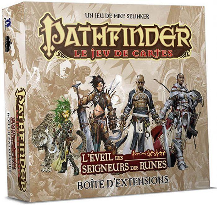 Novalis Pathfinder: Le Jeu De Cartes: Boite D'Extension De L'Eveil Des Seigneurs Des Runes