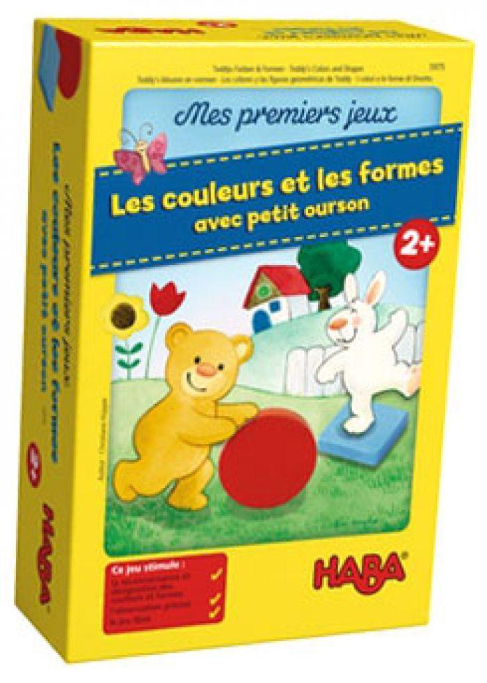 Haba Mes premiers jeux - Les couleurs et les formes avec petit ourson