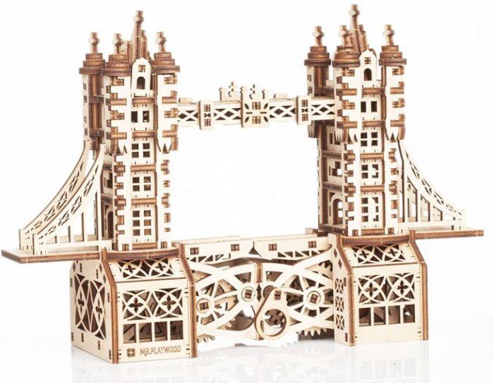 Gigamic Tower Bridge Petite Maquette 3D Mobile En Bois