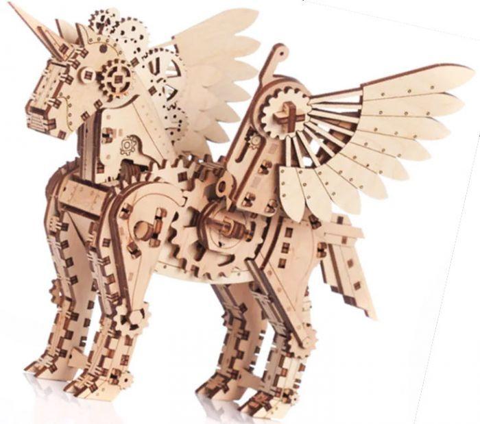 Gigamic Licorne petite maquette 3D mobile en bois