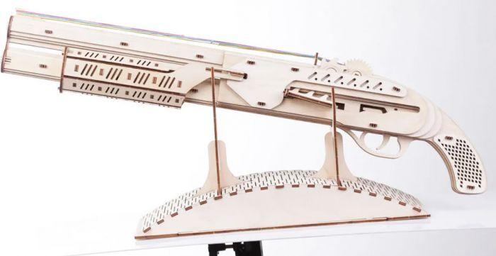 Gigamic Fusil Maquette 3D Mobile En Bois