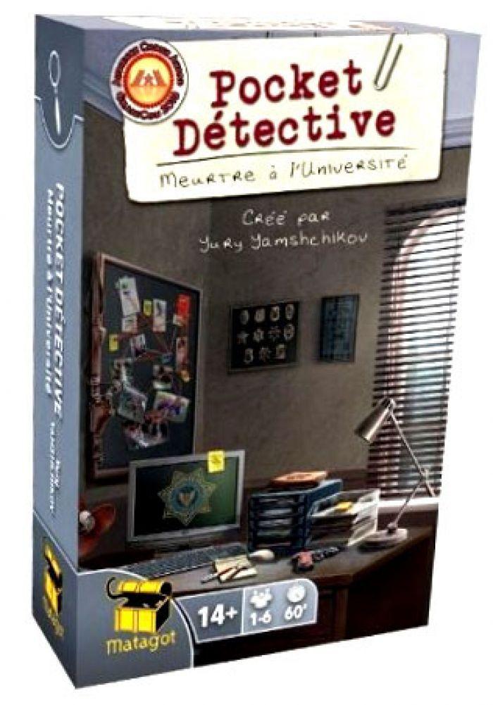 Surfin Meeple Pocket Detective – Meurtre a l'universite