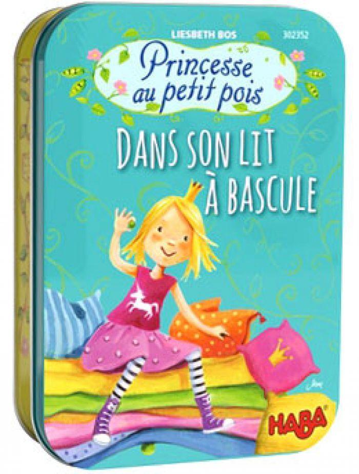 Haba Princesse Au Petit Pois - Dans Son Lit A Bascule