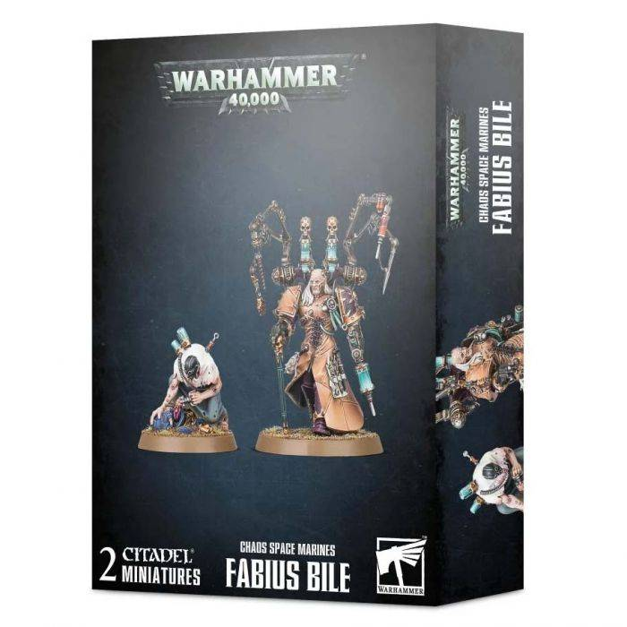 Games Work Shop CHAOS SPACE MARINES: FABIUS BILE