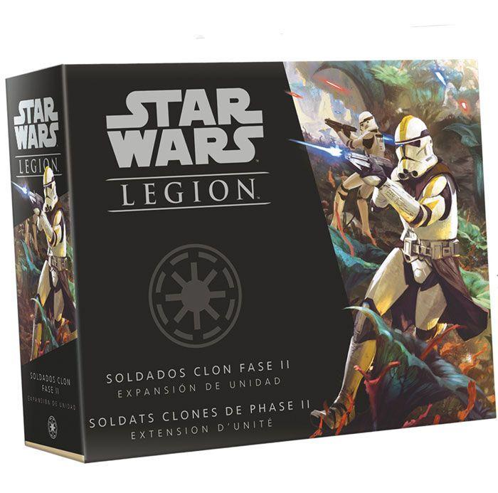 Asmodee Star Wars Legion : Soldats Clones de Phase II