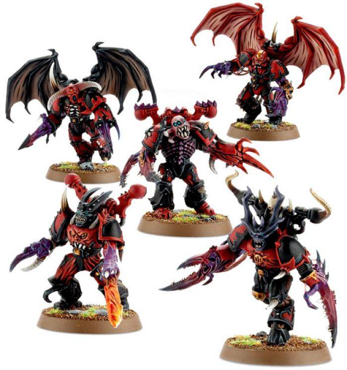 Games Work Shop CHAOS SPACE MARINES POSSESSED