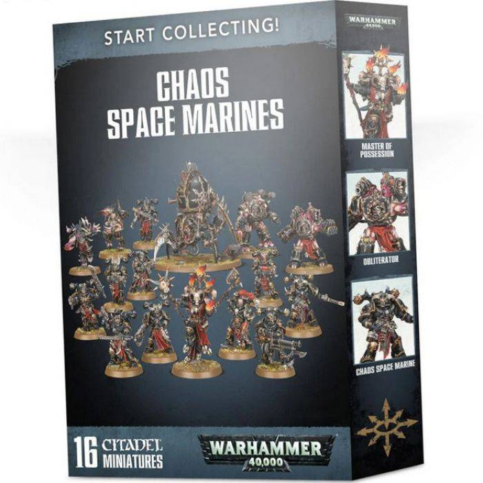 Games Work Shop START COLLECTING! CHAOS SPACE MARINES