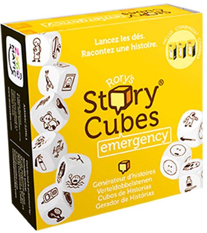 Asmodee Rory's Story Cubes : Emergency (Jaune)
