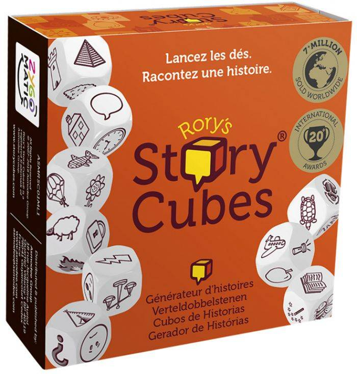 Asmodee Rory's Story Cubes : Original (Orange)