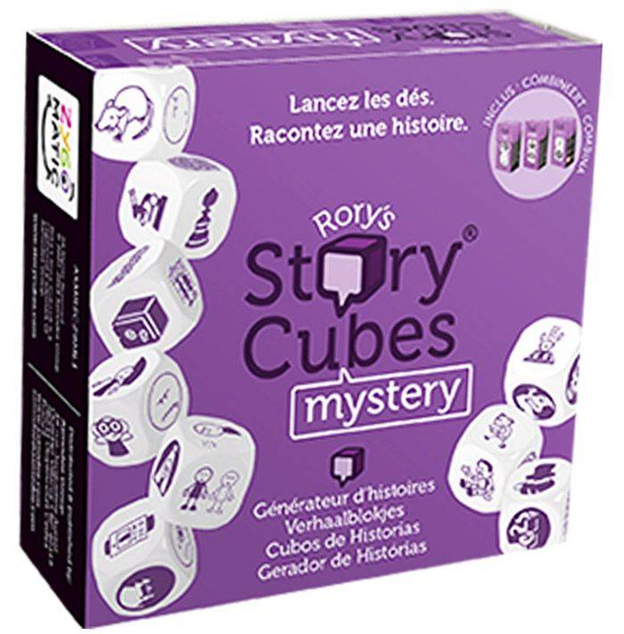 Asmodee Rory's Story Cubes : Mystery (Violet)