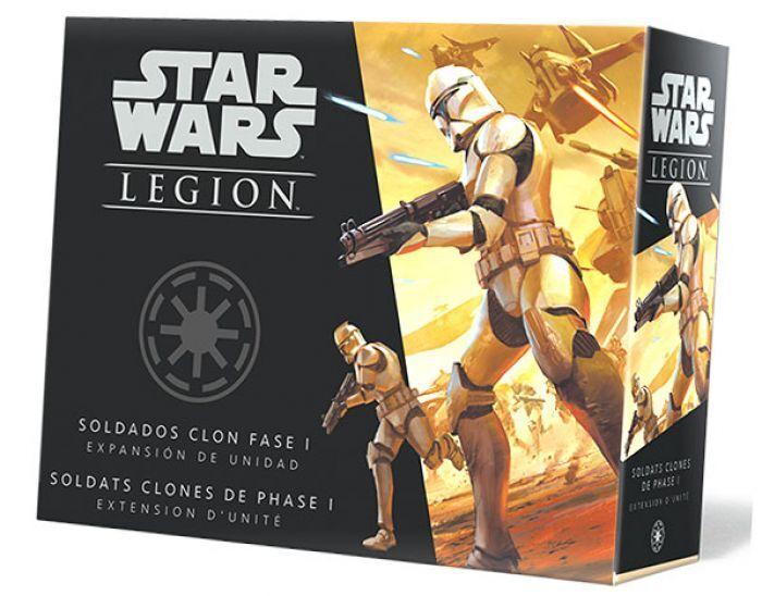 Asmodee Star Wars Legion : Soldats Clones de Phase 1