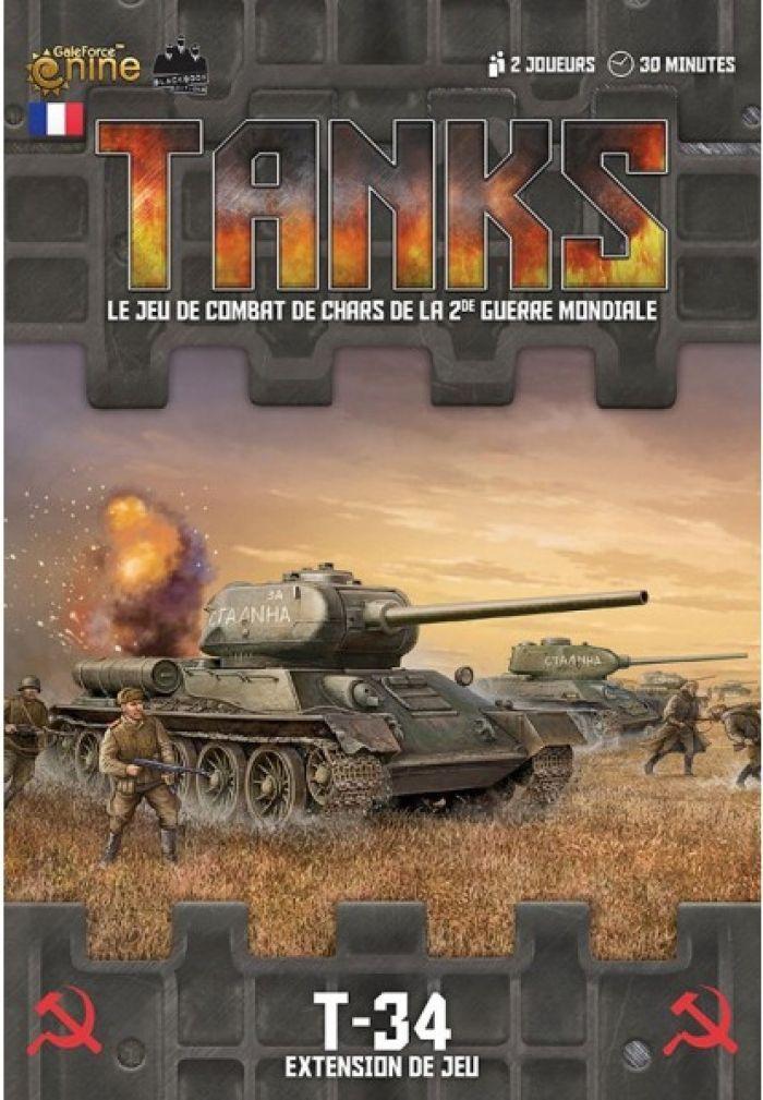 Novalis TANKS : T-34 - Ext. de jeu