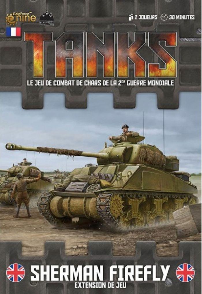 Novalis TANKS : Sherman Firefly - Ext. de jeu