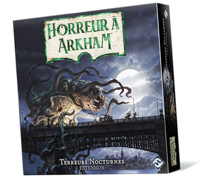 Asmodee Horreur a Arkham V3 : Terreurs Nocturnes