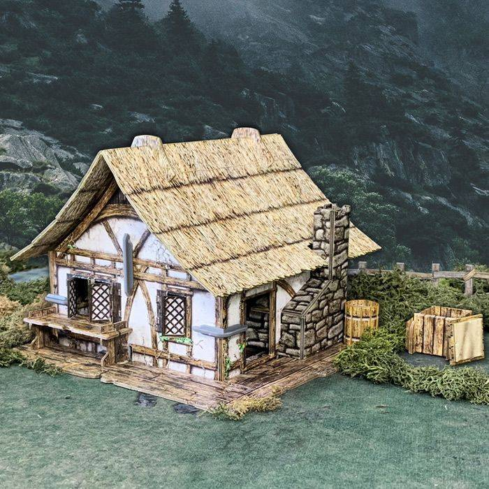 BlackFire Thatched Cottage (Chaumiere)