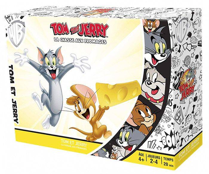Pixie Games Tom & Jerry : La Chasse Aux Fromages