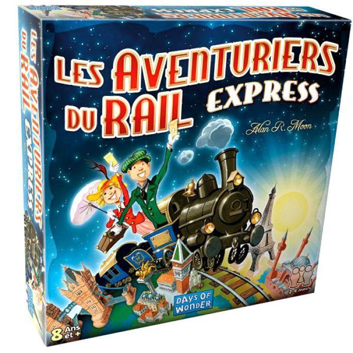 Asmodee Les Aventuriers Du Rail : Express