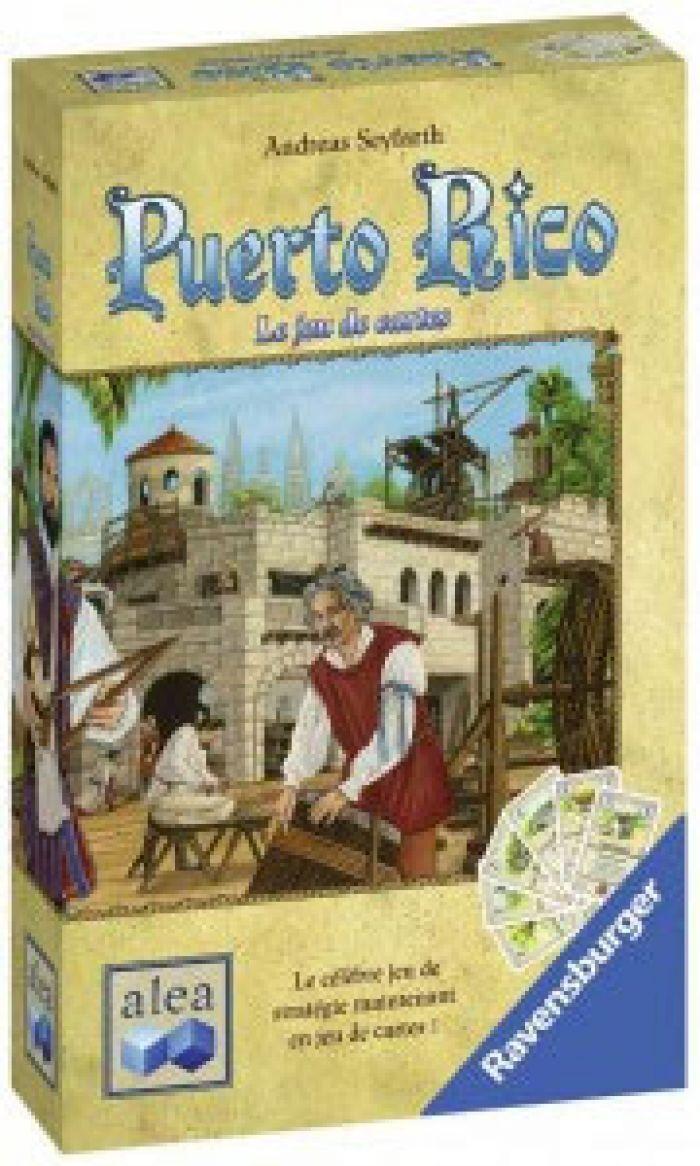 IELLO Puerto Rico - Le jeu de Cartes