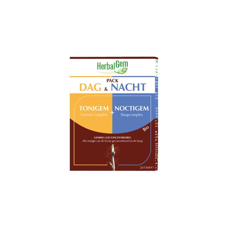 Herbalgem pack jour&nuit; noctigem complex   2x15ml