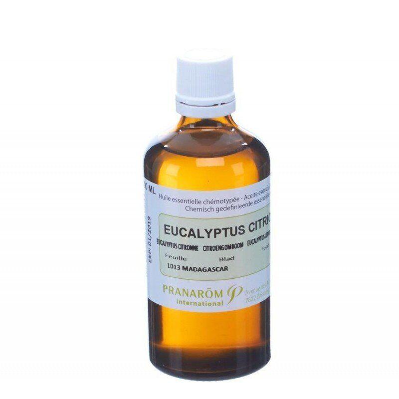 Pranarom eucalyptus citronné huile essentielle 100ml