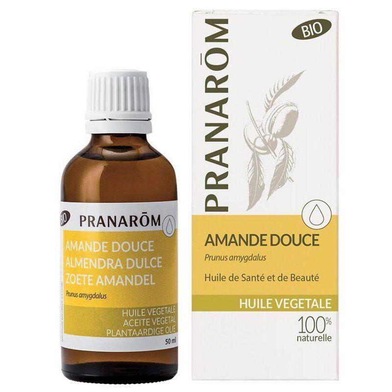 Pranarom amande douce huile végétale bio 50ml