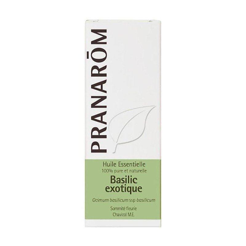 Pranarom basilic exotique sommité fleurie huile essentielle 10ml